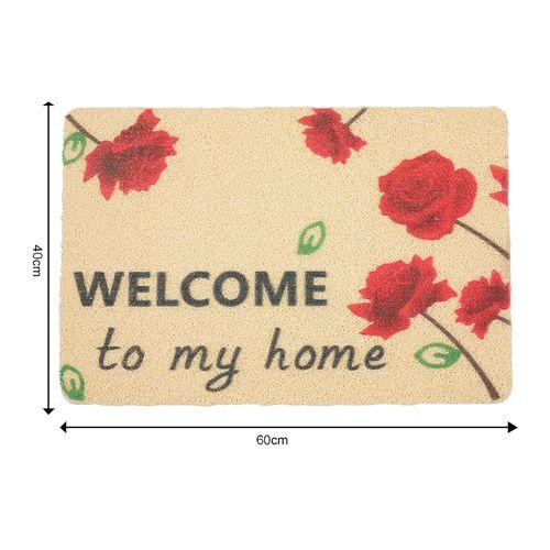 DP Door Mat - Multicolour, Welcome Home Print MC BB 567_ 12, 1 pc