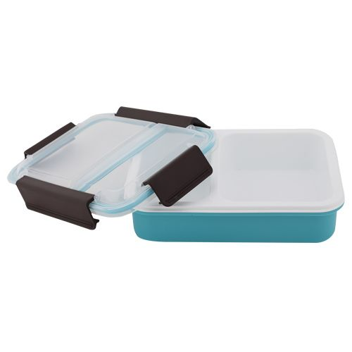 Homio Lunch Box - Plastic, Blue - Blue BB 579 1, 1 L