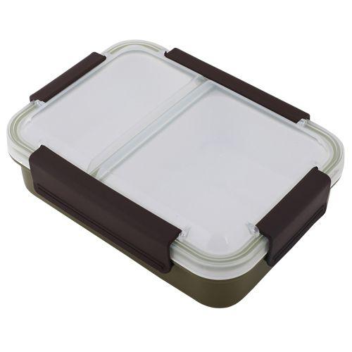 Homio Lunch Box - Plastic, Olive Green - Gr BB 579 2, 1 L