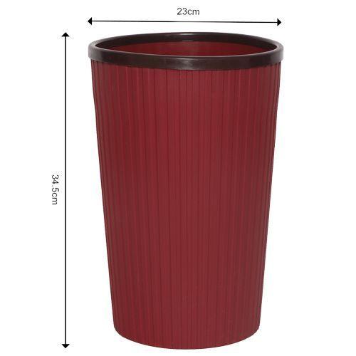 Shengyi Multiutility Basket - Plastic, Maroon - Mrn BB 624, 1 pc