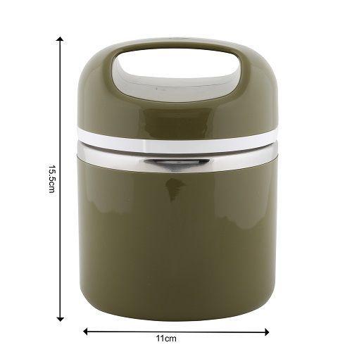 Tedemei Lunch Box-Tiffin Set - Stainless Steel, Blue -Blue BB 573 1, 830 ml