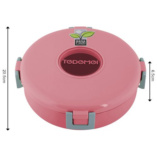 Buy Tedemei Lunch Box Tiffin Set Stainless Steel Pink