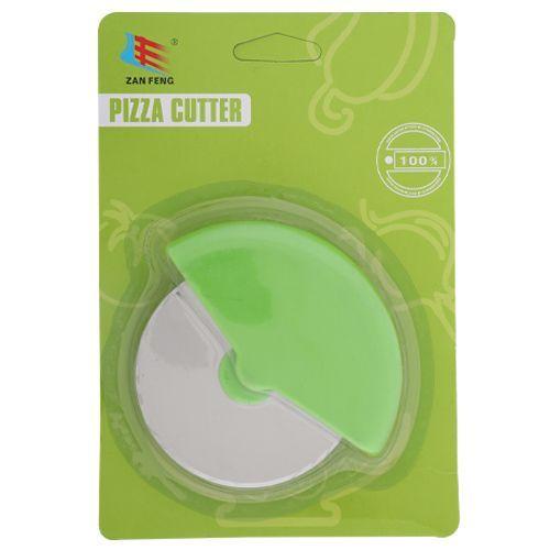 Zanfeng Pizza Cutter - Plastic, Green - Gr BB 645 2, 1 pc