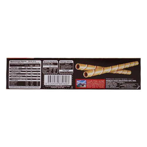 Munchys Wafer Rolls - Chocolate, Munchini, 100 g