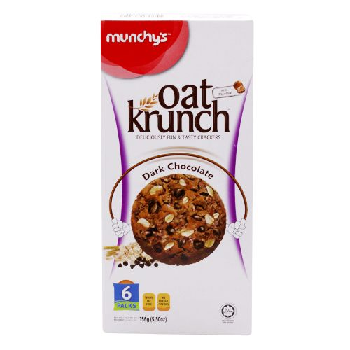 Munchys Oat Krunch - Dark Chocolate, 156 g