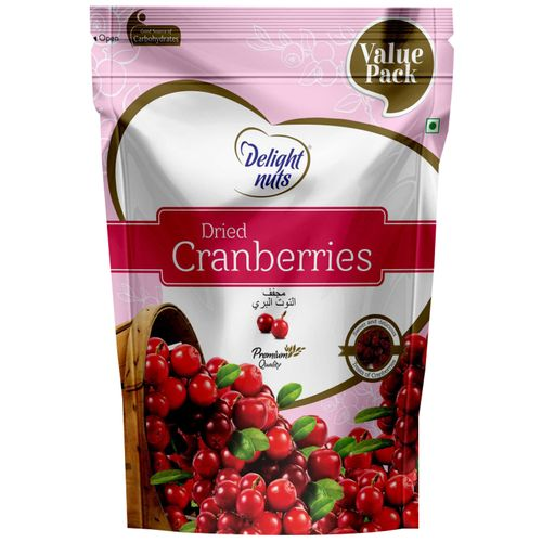 Delight Nuts Dried Fruit - Cranberries, 750 g
