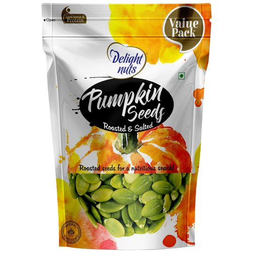 Delight Nuts Seeds - Pumpkin, Roasted & Salted, 750 g