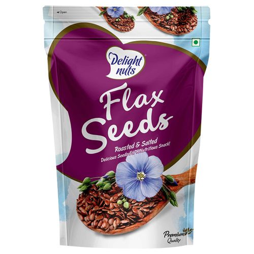 Delight Nuts Flaxseed - Roasted & Salted, 200 g