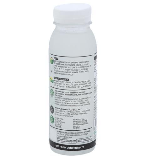 Raw Pressery Coconut Water + Aloe Lemon - 100% Natural, 250 ml