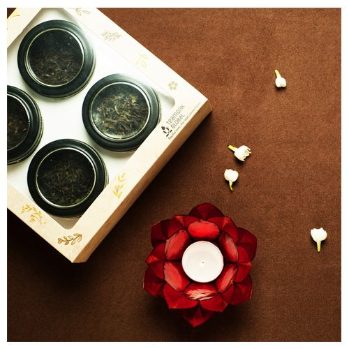 Teamonk Global Tea Gift Box - Melange Collection, 100 g