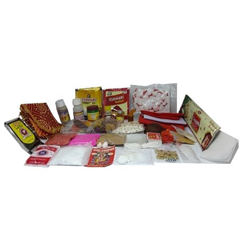 SriRudra Monthly Pooja Kit - 30 Days Pack, 750 g