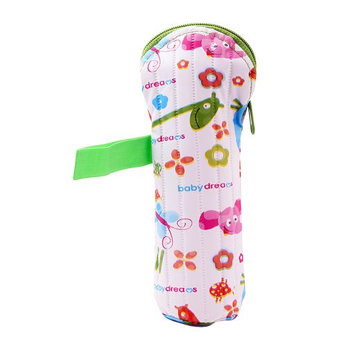 Morisons Baby Dreams Feeding Bottle Cover - Green, Animal Print, Medium, 250 ml