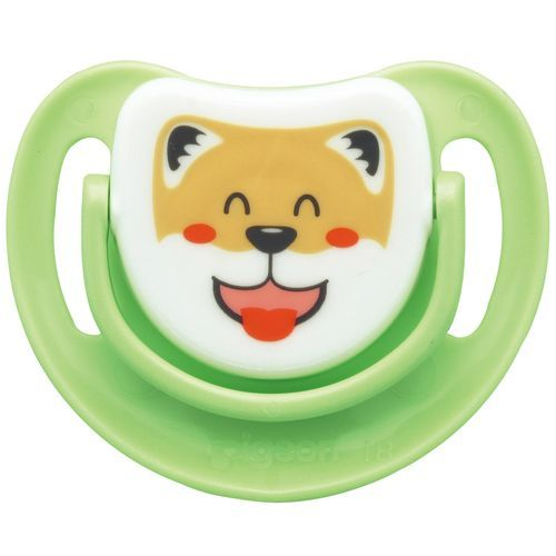 Pigeon Baby Silicone Pacifier Step 3 - Dog, 1 pc
