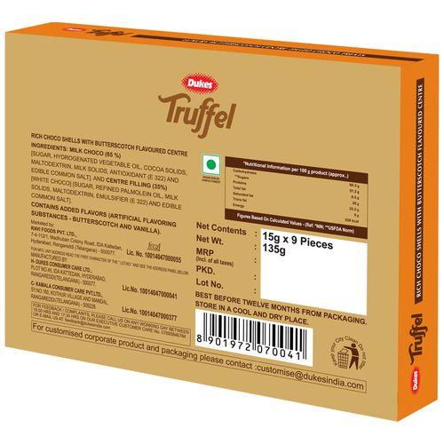 Dukes Truffel - Butterscotch, 135 g