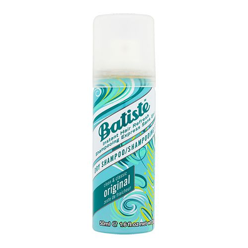 Batiste Dry Shampoo - Instant Hair Refresh, Clean & Classic Original, 50 ml