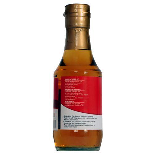 Golden Prize Fish Sauce, 200 ml Glass Bottle