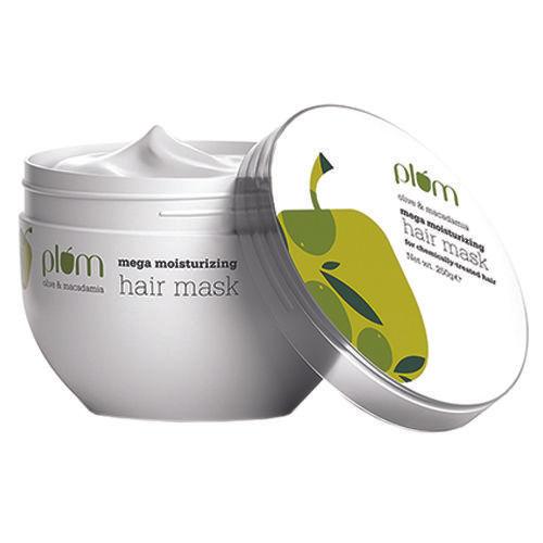 Plum Olive & Macadamia Mega Moisturizing Hair Mask, 250 g