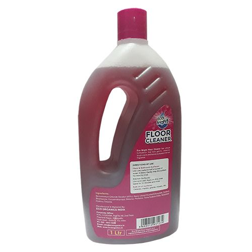 Eco Bright Floor Cleaner - Clean & Shine, 10X Power, 1 L