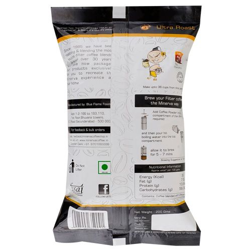 Minerva Coffee - Ultra Roast, 200 gm