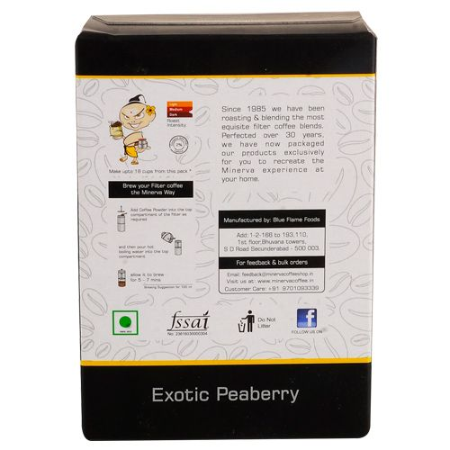 Minerva Coffee - Exotic Peaberry, 100 g