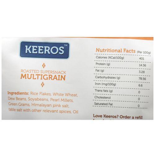 Keeros Multigrain Roasted Supersnack, 400 g
