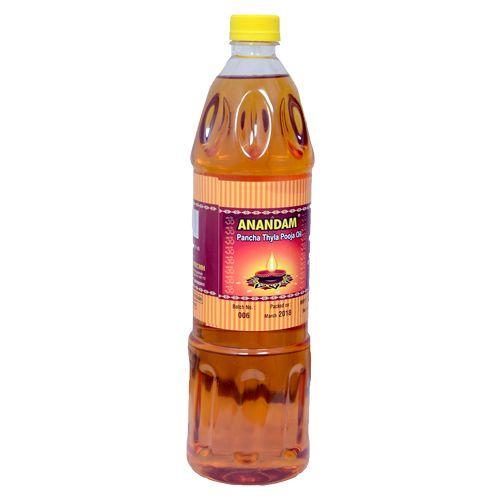 Anandam Pooja Oil - Pancha Thyla, 900 g