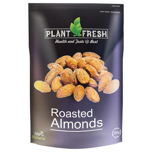Plantfresh Roasted Almonds, 250 g