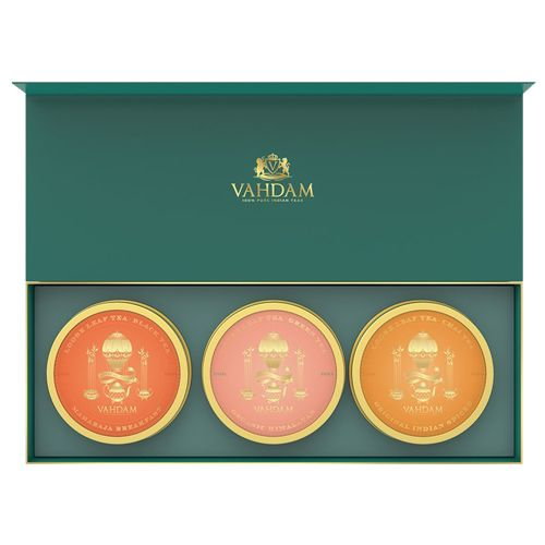 VAHDAM Founders Private Reserve Trio, 50 gm Pack of 3