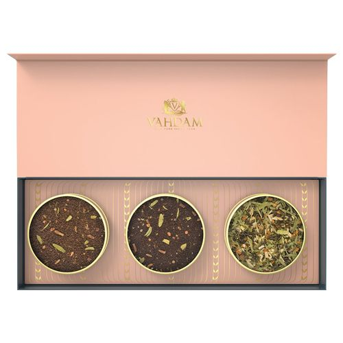 VAHDAM Blush - Assorted Loose Leaf Tea, 20 g Pack of 3