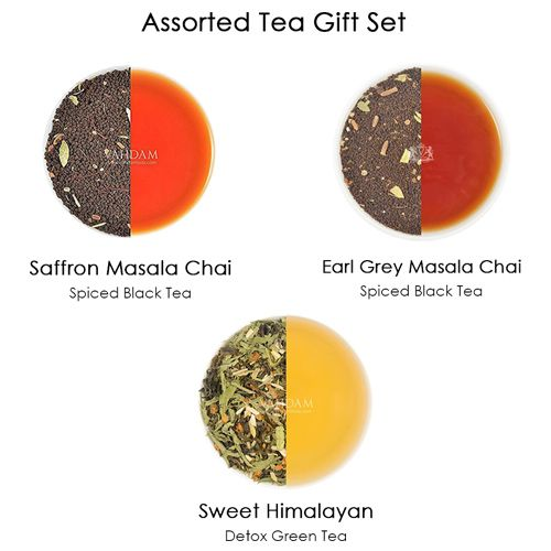 VAHDAM Blush - Assorted Loose Leaf Tea, 20 gm Pack of 3
