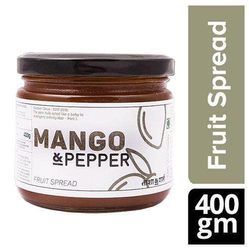 Tasha & Girl Fruit Spread - Mango & Pepper, 400 g