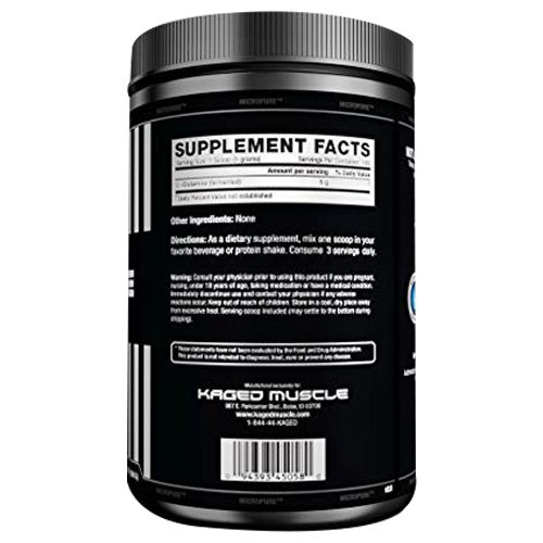Kaged Muscle Glutamine - Unflavoured, 500 g