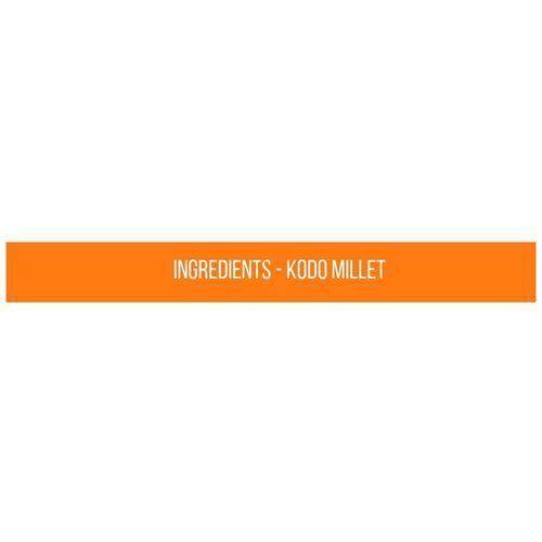 Safe Harvest Kodo Millet Rice - Pesticide Free, 500 g 0
