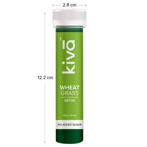 Akiva Love Super Wheatgrass Juice For Detox, 40 ml Pack of 6