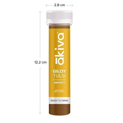 Akiva Love Super Giloy Juice For Immunity & Wellness, 40 ml Pack of 6