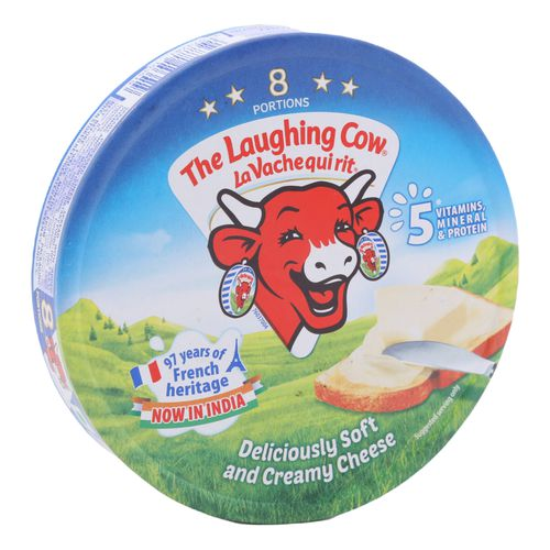 The Laughing Cow Creamy Cheese Triangles, 120 g