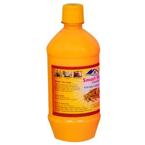 Smart Home Perfumed Herbal Phenyle - Sandal, 500 ml Plastic Bottle