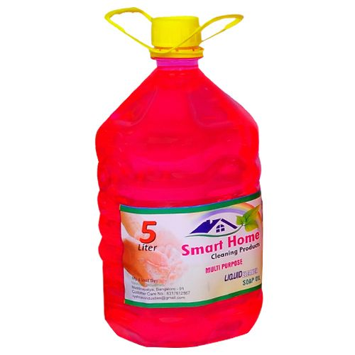 Smart Home Multipurpose Liquid Soap - Sandal, 5 L Plastic Can