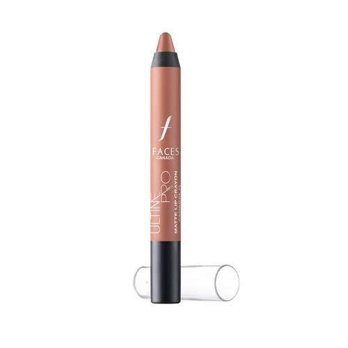 Faces Ultime Pro Lip Crayon Matte With Free Sharpener, 2.8 g