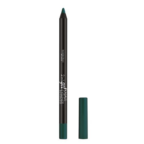 Deborah 2-In-1 Gel Kajal & Eyeliner, 1.4 g 4 Green