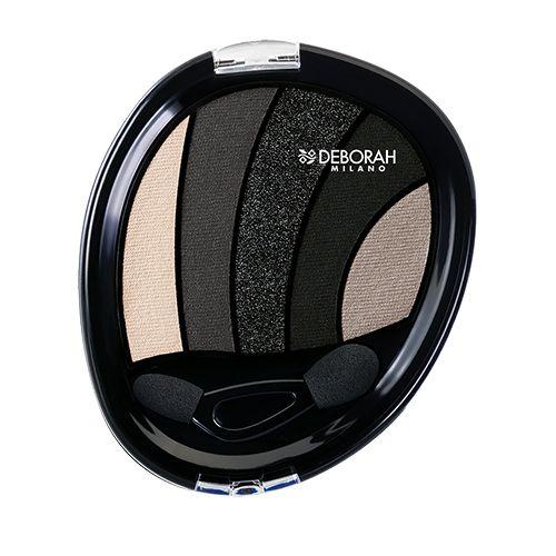 Deborah Perfect Smokey Eye Palette, 5 g 03 Black Smokey