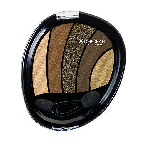 Deborah Perfect Smokey Eye Palette, 5 g 05 Kaki