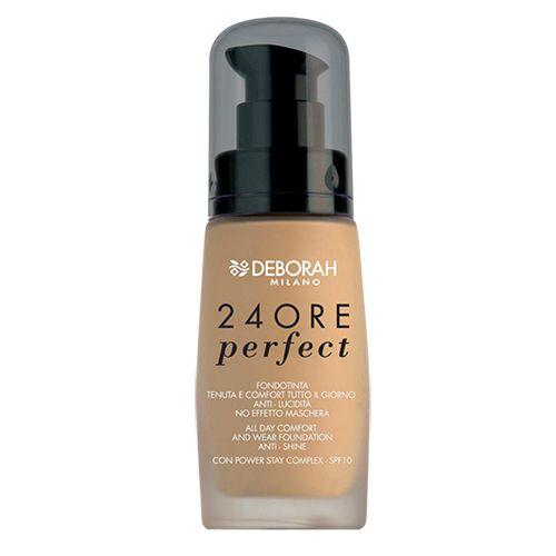 Deborah 24ore Perfect Foundation, 30 ml 3 Caramel Beige