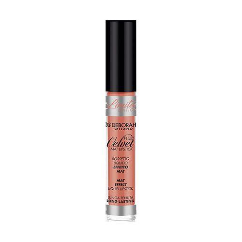 Deborah Fluid Velvet Mat Lipstick, 4.5 g 13 Nude Orange