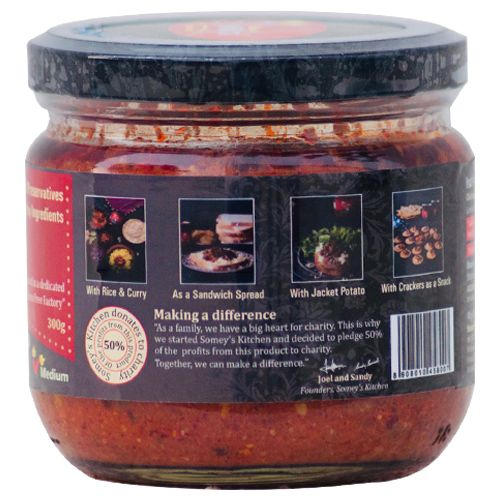 Somey's Kitchen Carrot Pickled Masala, 300 g Bottle
