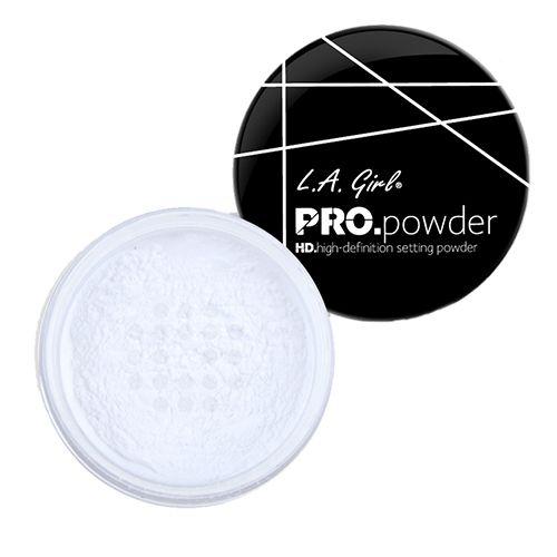 LA girl HD PRO Setting Powder, 5 g Translucent