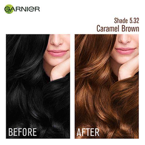 Garnier Color Naturals Creme Hair Color 70 Ml 60 G Shade 5 32 Caramel Brown