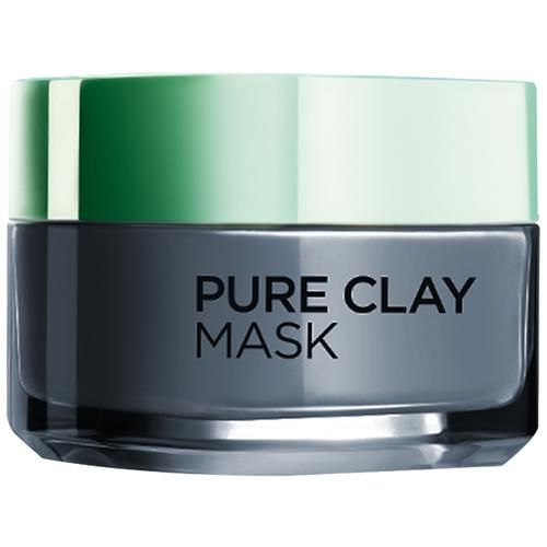 Loreal Paris Pure Clay Clay Mask, Detoxify with Charcoal, 50 ml