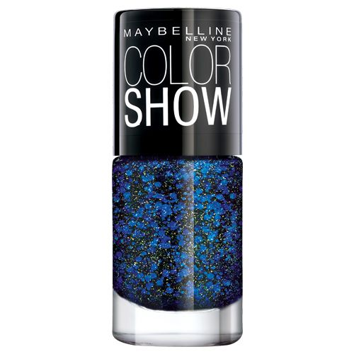 Buy Maybelline New York Colour Show Party Girl Nail Colour - Blue ...