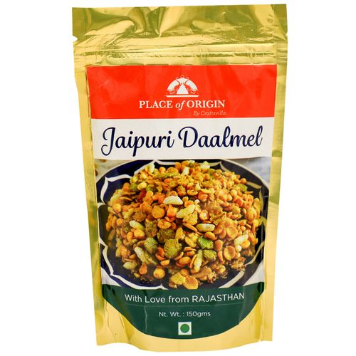Place of Origin Jaipuri Daalmel Roasted Snack Mixture, 150 g Pouch